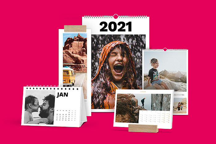 Geschenkideen mit Fotos: Foto-Kalender-Varianten