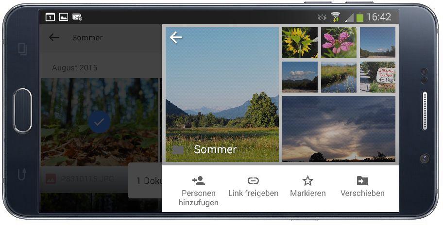 Mit Google Fotos Bilder als Galerie ins Netzt stellen