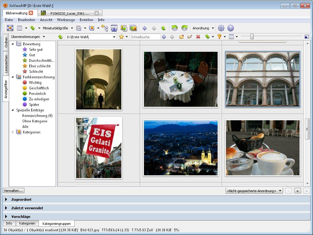 Mit XnView das digitale Fotoarchivkostenlos organisieren