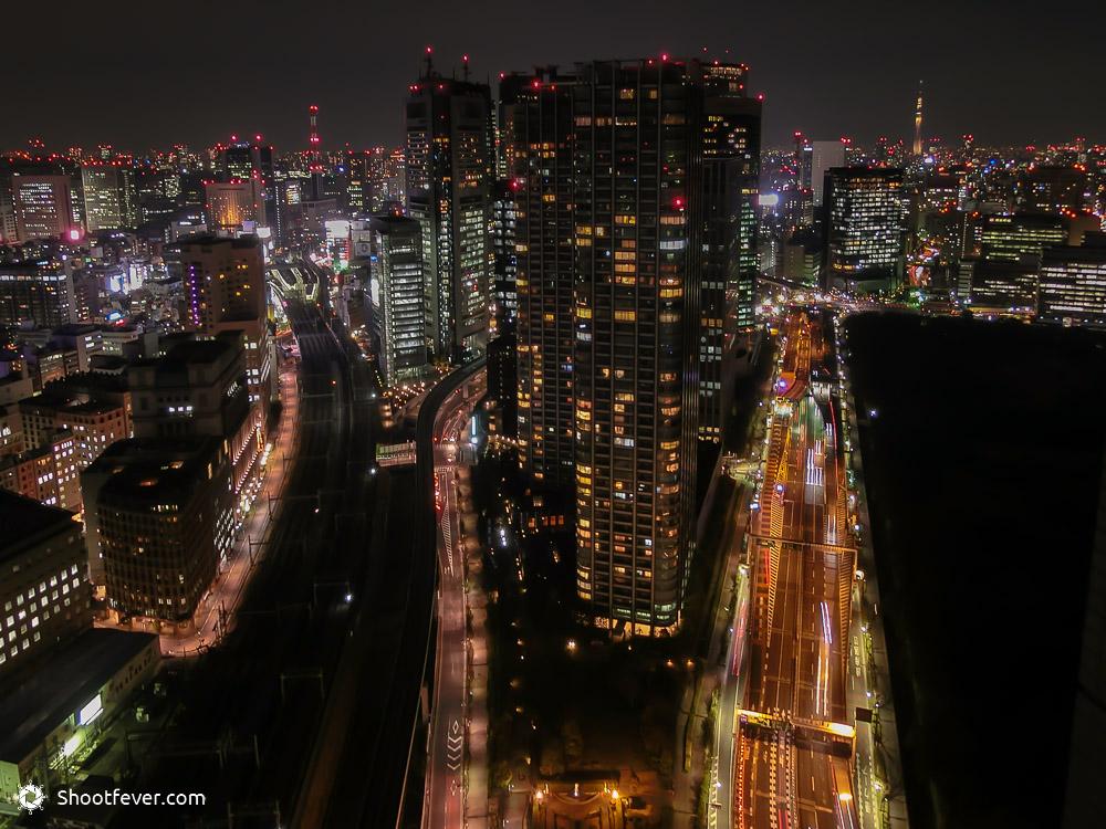 Lichter in Tokio