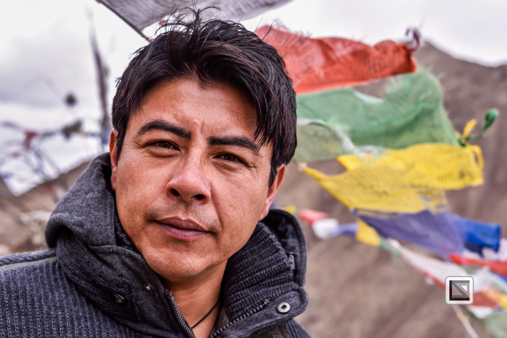 Portrait asiatischer Mann