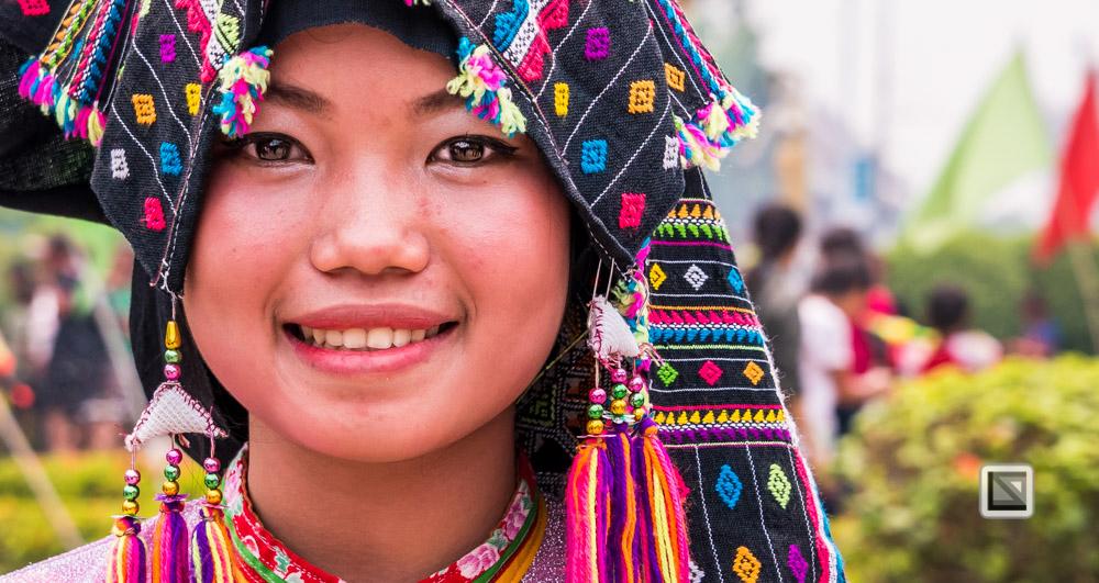 Luang Prabang, Laos, Frauen-Potrait