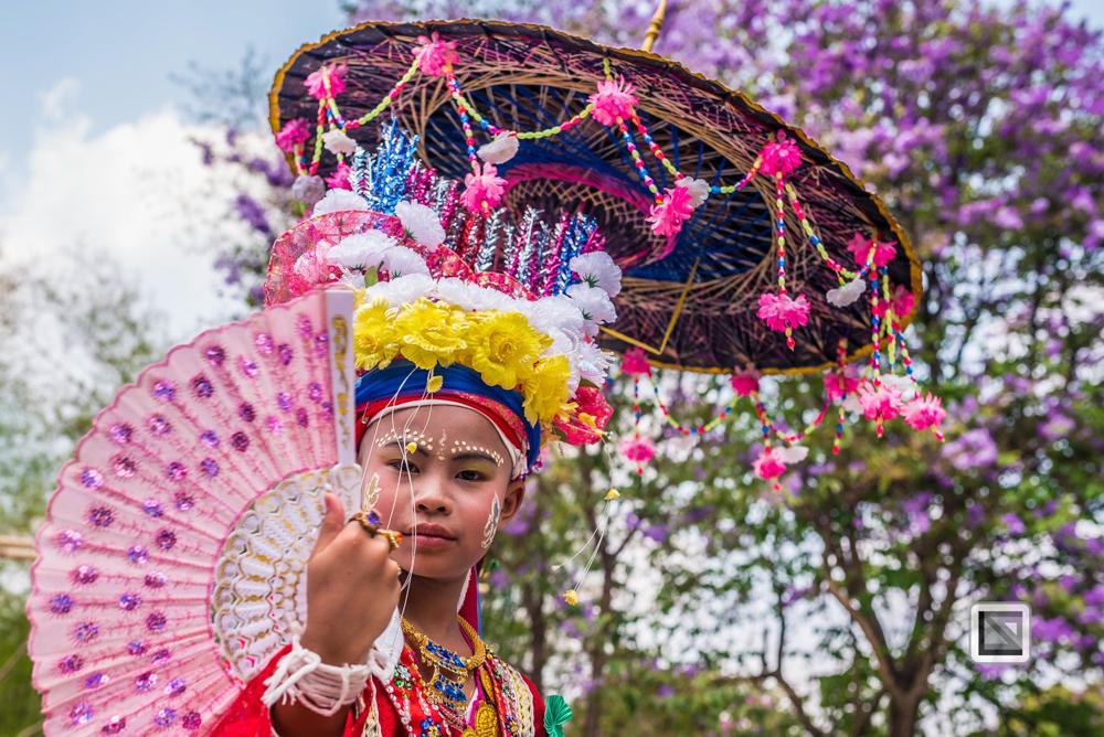 Mae Hong Son, Thailand, Jungen-Portrait