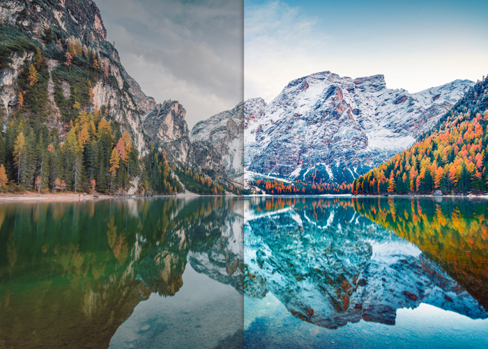 Gimp Bild aufhellen & verbessern: Vorher nachher