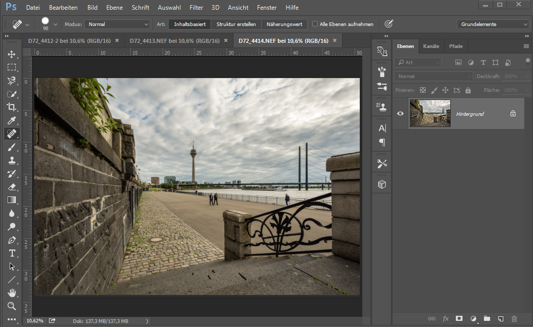 Median in Photoshop, drittes Beispielbild