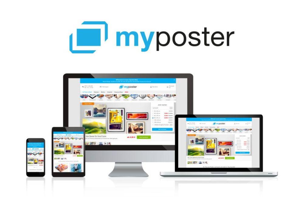 myposter Plattform für individuelle Bildprodukte