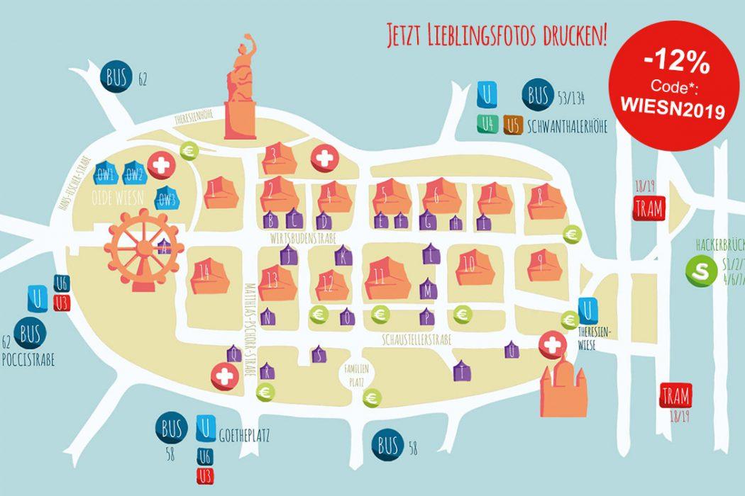 Der Myposter Oktoberfest Plan 2019 Alle Infos Zur Münchner