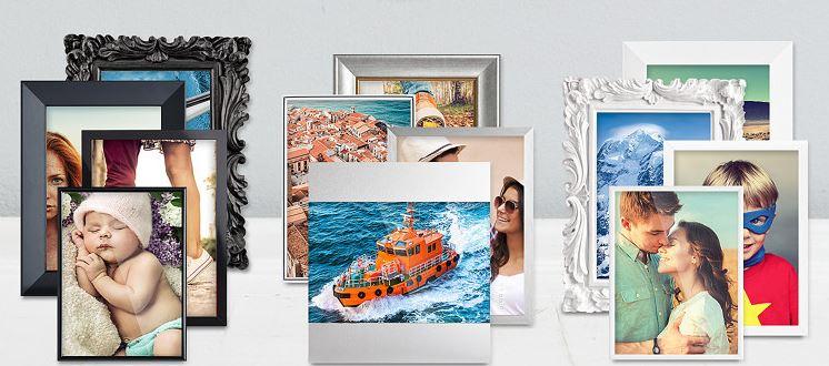 Fotos im Rahmen - Auswahl / Rahmenvielfalt