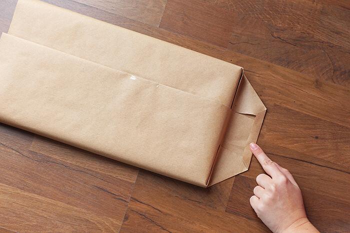 geschenke einpacken anleitung step 11