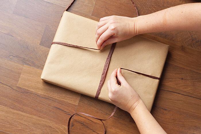 geschenke verpacken Anleitung step19