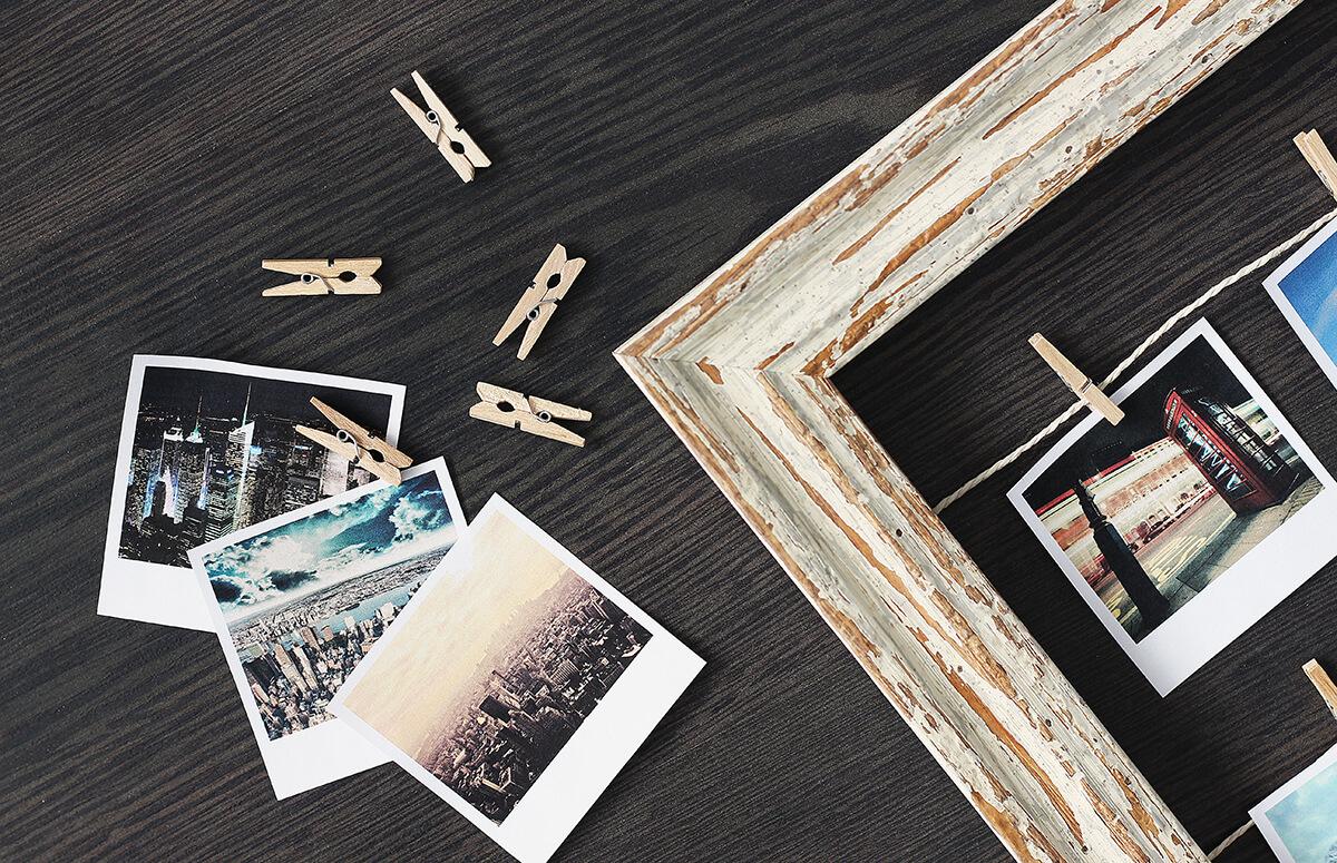 Kostenlose Polaroid Vorlage für Ihr Foto downloaden!