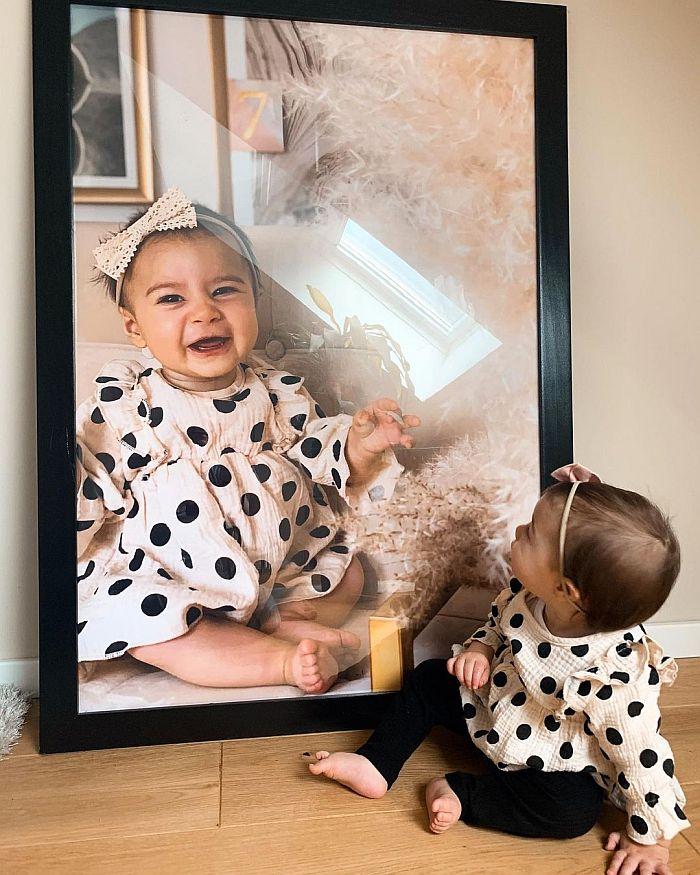 Muttertag-Ideen: Poster im Rahmen