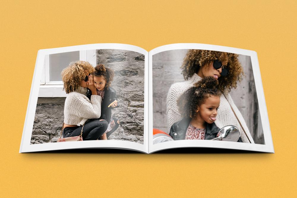Muttertag-Idee: Fotobuch
