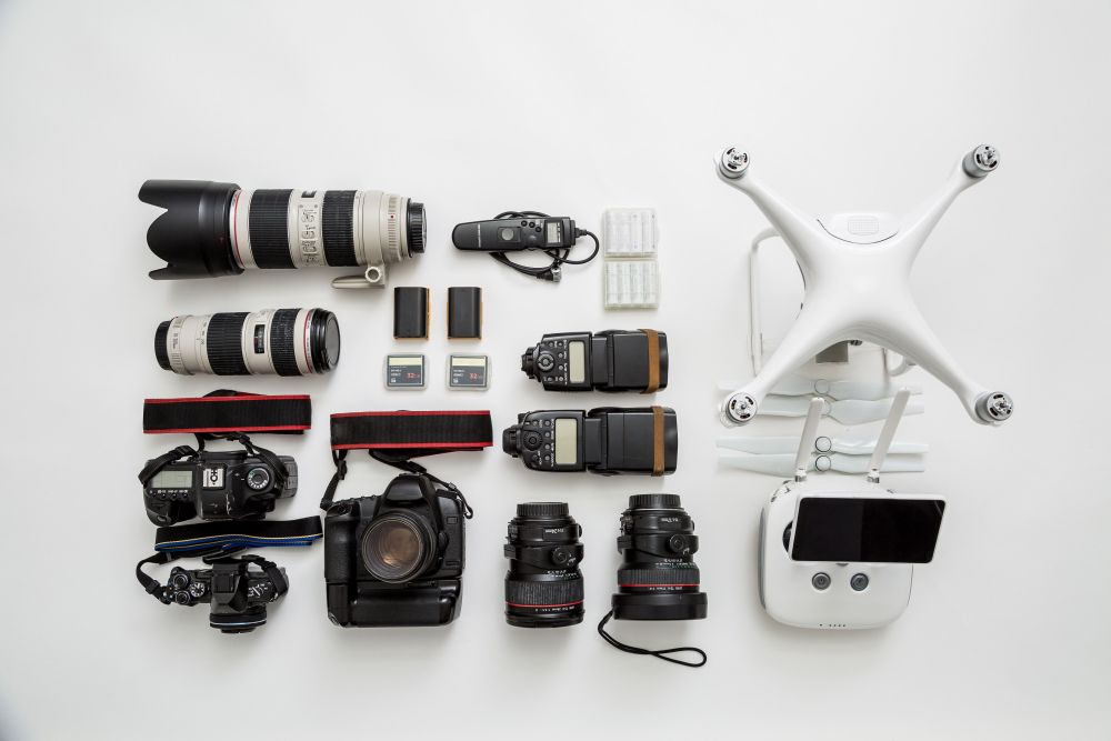 Seriennummern von Kamera und Objektiv