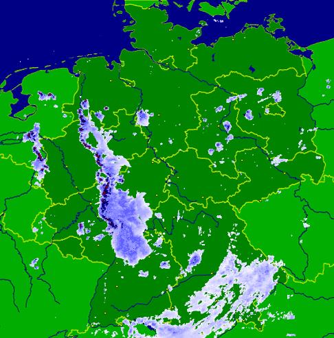 Niederschlags-Radar