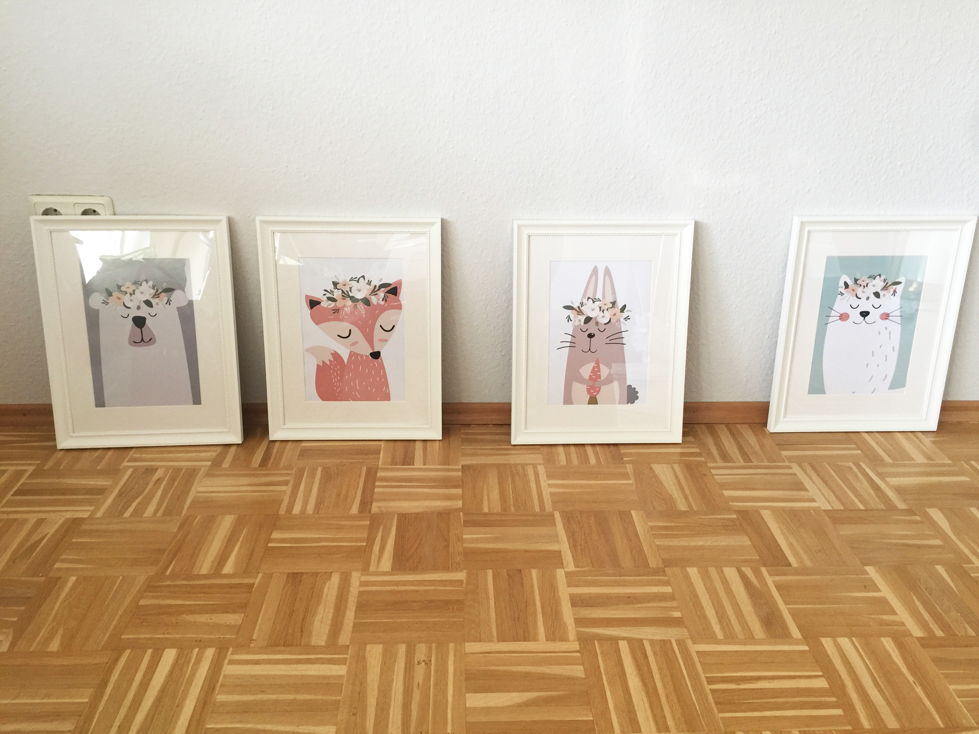 Serie mit gerahmten Postern für das Kinderzimmer - @myposter / Anne-Catrin