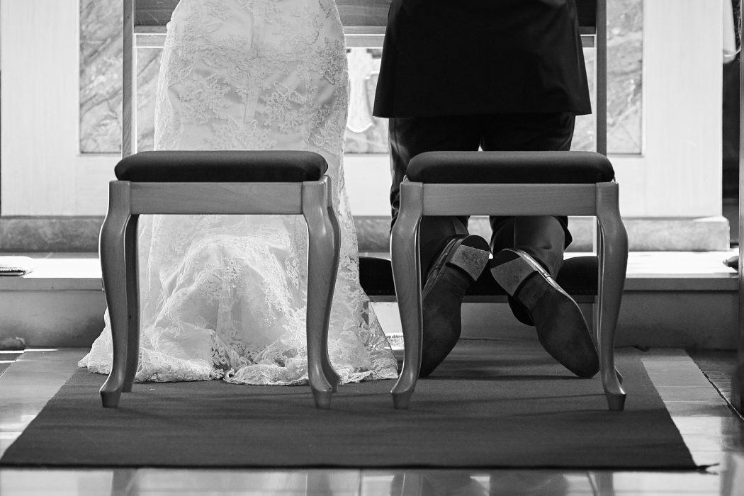 Hochzeitsfotografie Tipps: Vor dem Altar