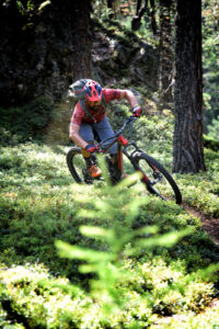Sportfotografie Mountainbike Closup