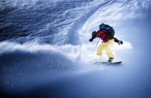 Sportfotografie Snowboard Winter