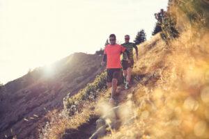 Sportfotos Wandern Landschaft Berge