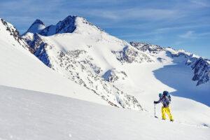 Sportfotografie Ski Schnee