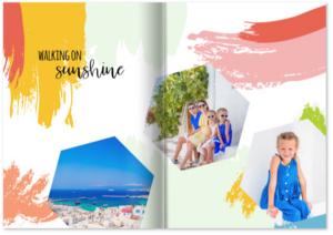 Familienfotos, Familien-Urlaub, Fotobuch von Reisen