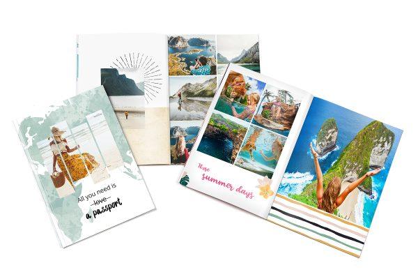 Urlaubs-Fotobuch, Urlaubsfotos, Reise-Fotobuch