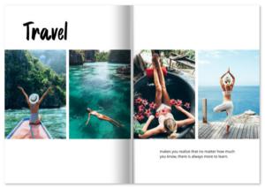 Travel-Fotobuch, Urlaubs-Fotobuch, Reisefotos