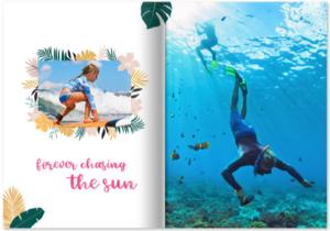 Tropical, Reisefotobuch, Fotobuch Urlaub