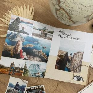 Fotobuch mit Urlaubsfotos