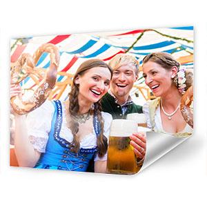 Wiesn Plan 2019 / Oktoberfestplan oder eigenes Foto auf Poster drucken