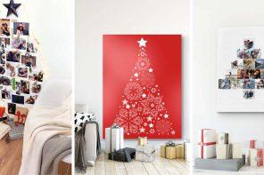 3 originelle Ideen für eine Weihnachtsbaum-Alternative 🌲