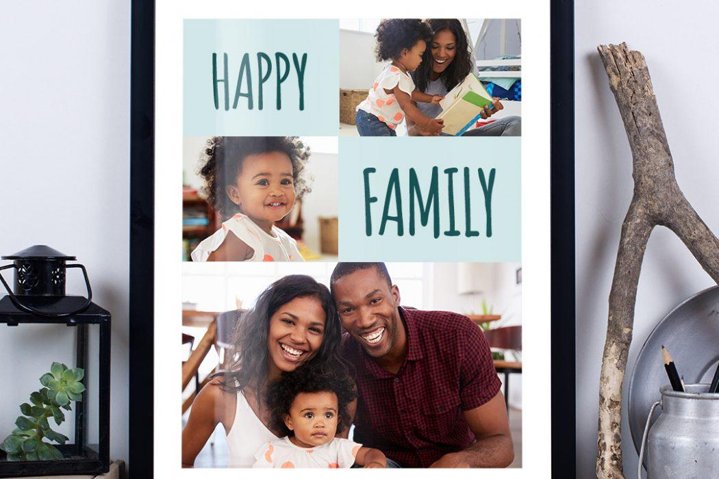 """""""Happy Family"""" Fotocollage erstellen: Programme, die helfen"""