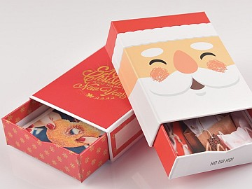 """Bilderboxen """"Weihnachten"""" mit Fotos für eine Weihnachtsbaum-Alternative"""