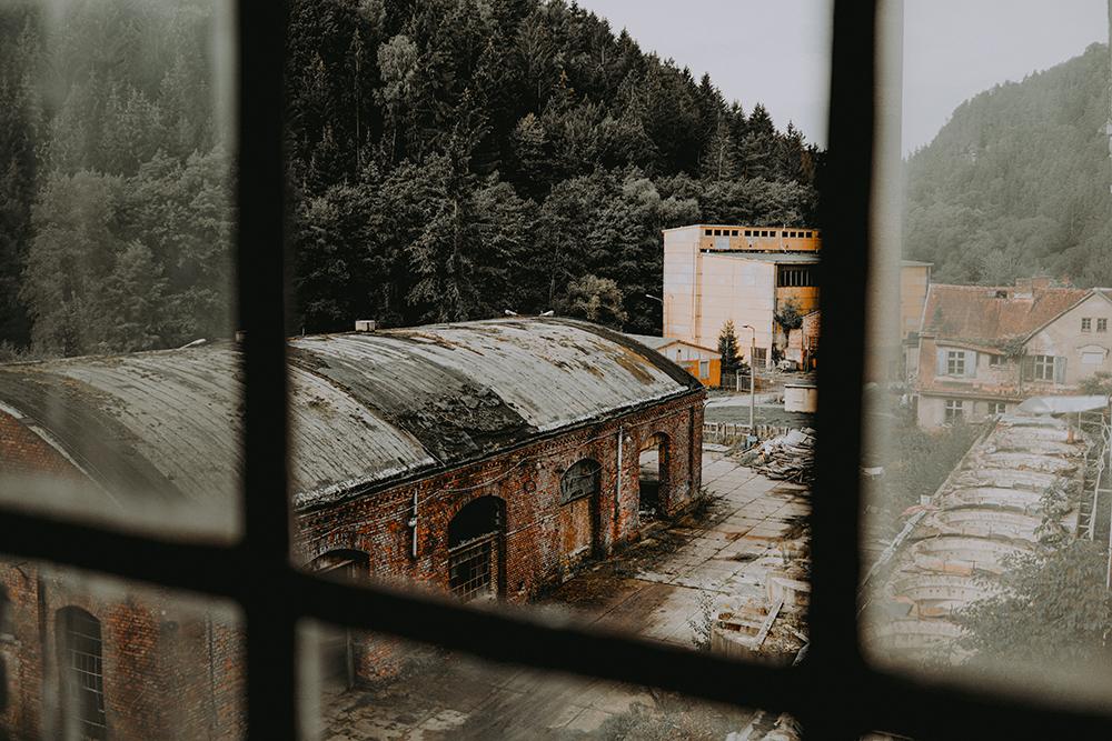Urbexen in verlassener DDR-Fabrik