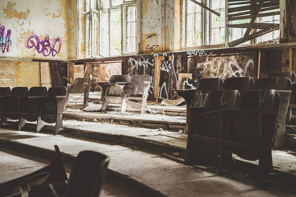 Urbexen in verlassener Heilstätte