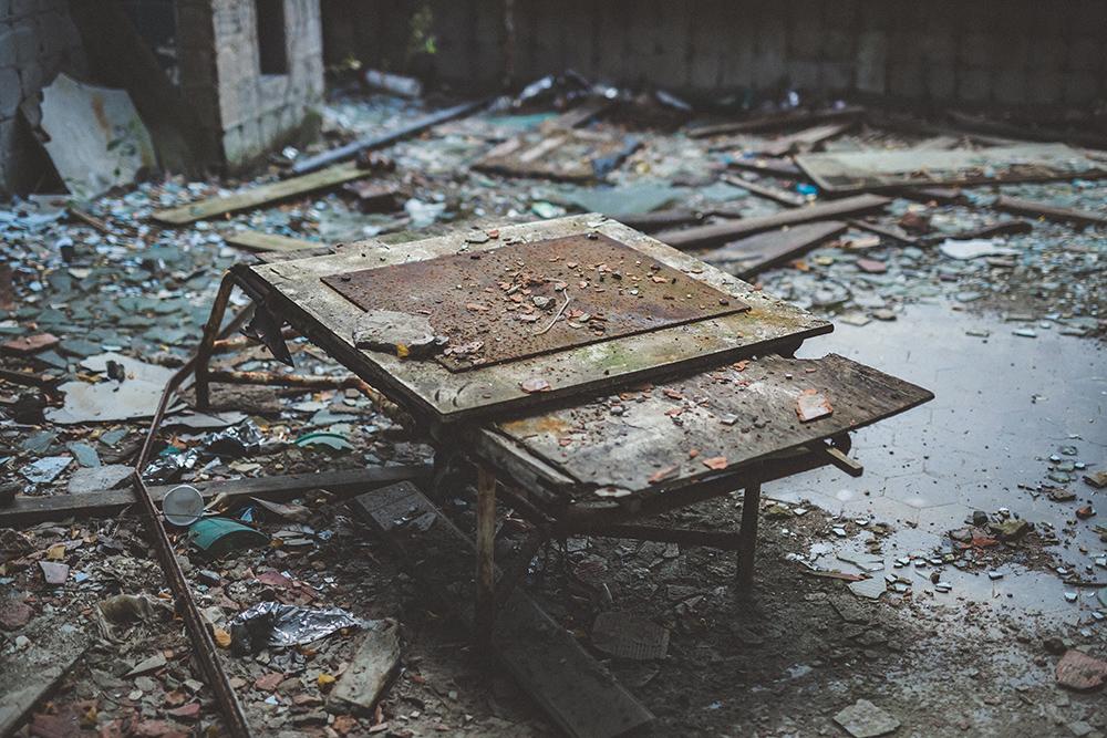 Urbexen: Verlassene Heilstätte Berlin