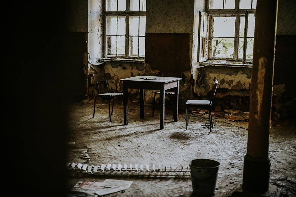 Urbexen in verlassenem Kinderheim