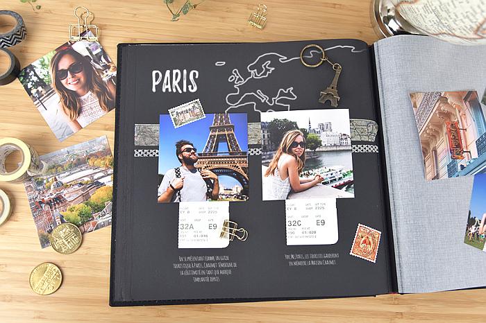 Scrapbook Ideen zum Thema Reise