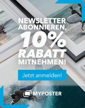 Newsletter-Banner 10% Rabatt